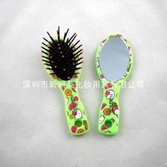 新妍美供应儿童用化妆镜+梳子套装 可定制