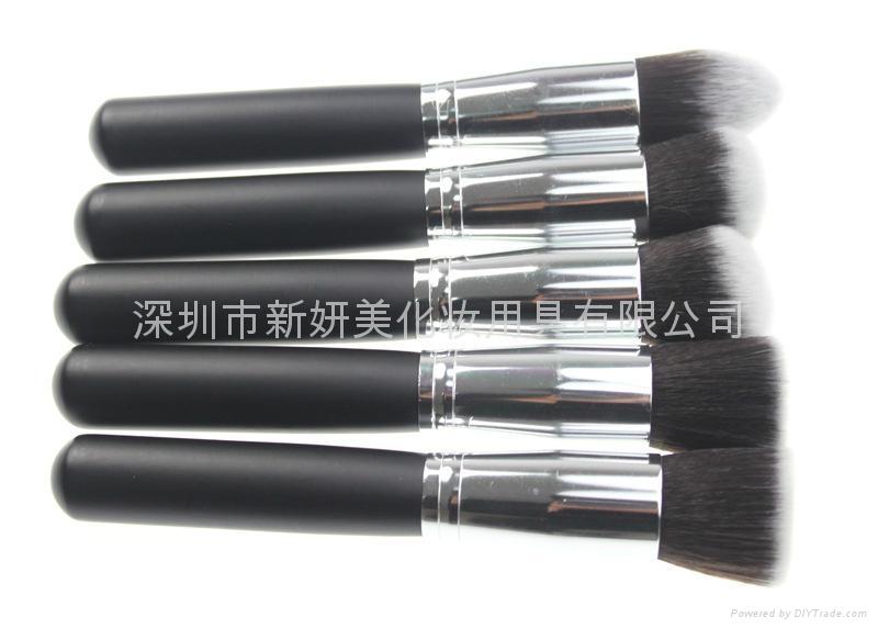 新妍美厂家供应10支化妆刷套装 高质量多功能粉底刷 7