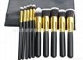 新妍美厂家供应10支化妆刷套装 高质量多功能粉底刷 3