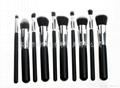 NEW High Quality 10pcs/lot Cosmetics Foundation Blending Blush Makeup Brushes 5