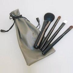 necking bag Cosmetic brush set mini 4PCS brush set