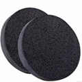 XINYAMEI Supply Cosmetic puff Bamboo charcoal sponge puff face beauty tools