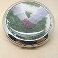 XINYANMEI Iron Round Compact Mirror