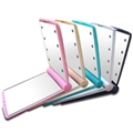 XINYANMEI Cosmetic A portable LED small square cosmetic mirror