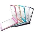 新妍美供應LED小方形塑膠便攜式化妝鏡