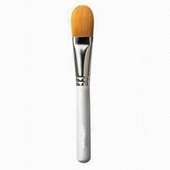 厂家供应木柄进口人造毛畅销眼影刷 礼品化妆刷