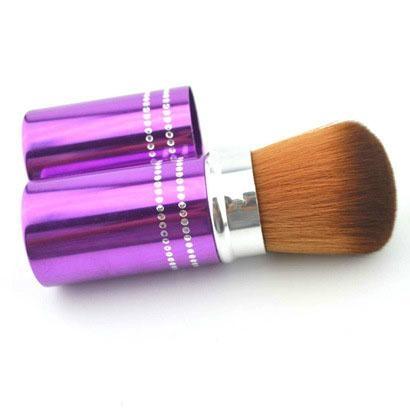 厂家供应伸缩式便携款粉底刷化妆扫 可定制 1