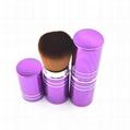 厂家供应伸缩式便携款粉底刷化妆扫 可定制 2