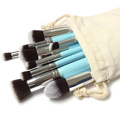 新妍美厂家供应10支化妆刷套装 高质量多功能粉底刷 1