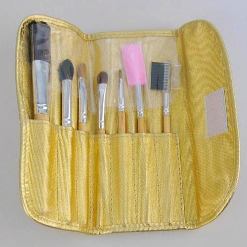 Manufacturers Beginners apply tools 7 pcs Wooden/Plastic handle makeup brush 2