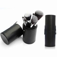 廠家新妍美化妝刷OEM化妝刷多色7支套刷+圓筒盒