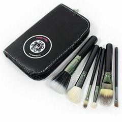 Manufactury Supply Beautiful 6PCS Cosmetic Brush set