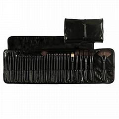 厂家供应高档化妆师专用羊毛化妆套刷 可定制