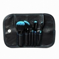 Manufactury Supply makeup brush 5PCS with a mirror Can OEM//ODM