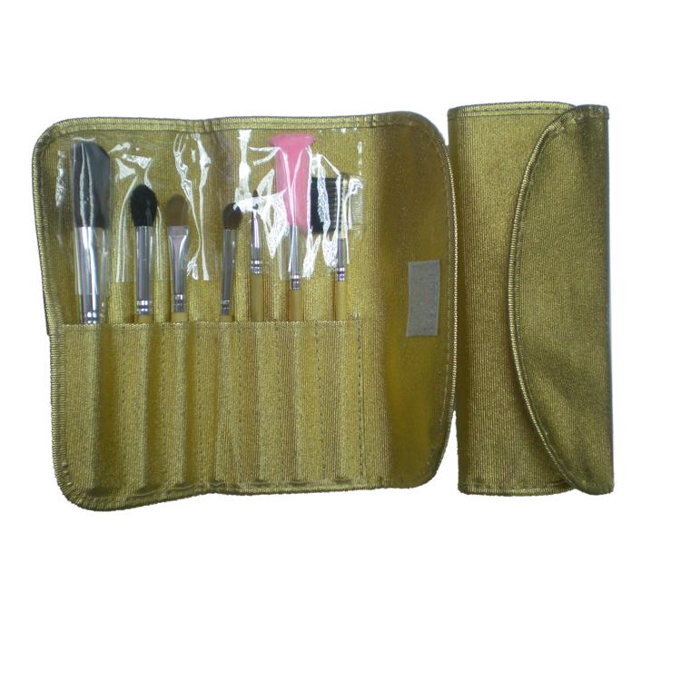 新妍美厂家供应精美化妆套刷7只装 PU化妆包 美容美妆化妆工具 3