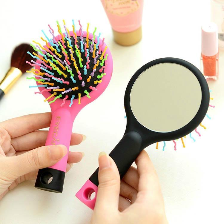 新妍美供應儿童用化妝鏡+梳子套裝 可定製 2