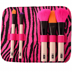 Manufacturer OEM Gift Pack 5 mini set makeup brush Beauty tools