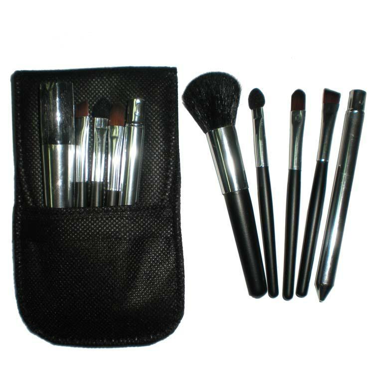 Manufacturers OEM Portable mini 5 Makeup Brush Set 1