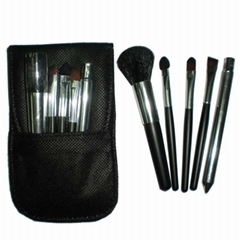 Manufacturers OEM Portable mini 5 Makeup Brush Set