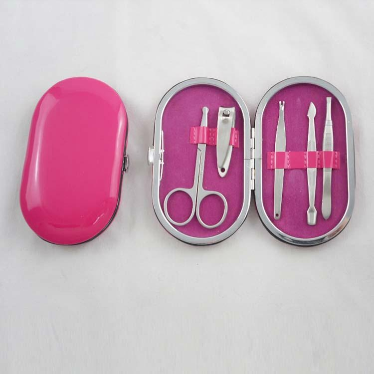 新妍美供應11支裝不鏽鋼美甲套裝 美容美妝工具 2