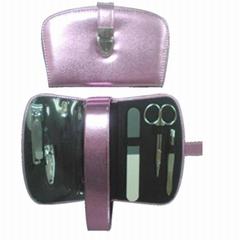 新妍美供應精美不鏽鋼修甲套件禮品化妝用具