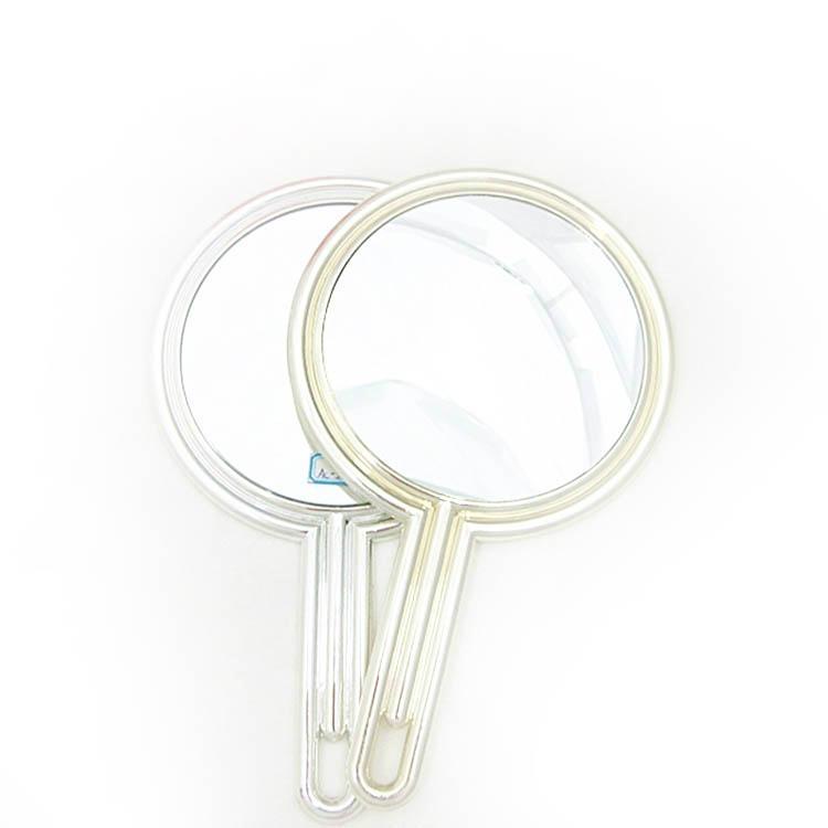 新妍美供应公主风格塑胶手柄化妆镜 可定制 1