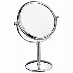 新妍美供应精美站立式化妆铁架台镜可做礼品可定制