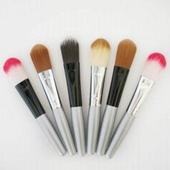 新妍美廠家供應精美6只裝纖維毛化妝套刷 便攜款禮品裝化妝掃