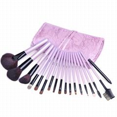 新妍美供应紫色礼品装便携款化妆套刷 美容美妆工具化妆扫 可定制