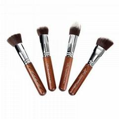 新妍美厂家供应4支装迷你化妆套刷 精美礼品化妆刷 可定制