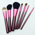 XINYANMEI Manufactury Supply 7PCS 5PCS Cosmetic Brush Set