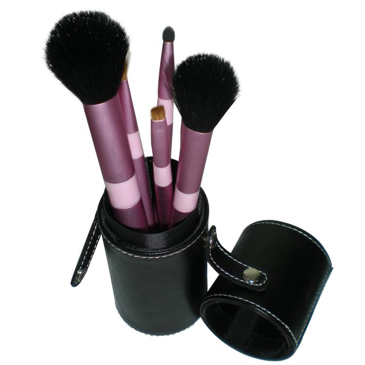 新妍美廠家供應圓筒裝7支5支化妝套刷 可定製 美容美妝化妝掃 1