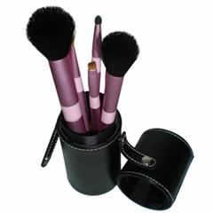 新妍美廠家供應圓筒裝7支5支化妝套刷 可定製 美容美妝化妝掃