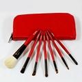 Manufacturers Beginners apply tools 7 pcs Wooden/Plastic handle makeup brush