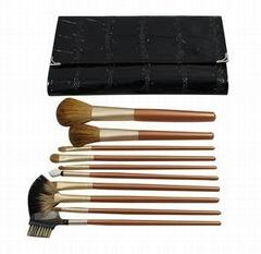 新妍美厂家供应12只装高质量化妆套刷 美容美妆工具 化妆扫