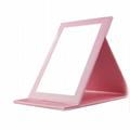 廠家供應新妍美迷你折疊led化妝鏡 多款形狀多色可選 3
