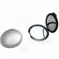 廠家供應新妍美迷你折疊led化妝鏡 多款形狀多色可選 2
