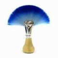 廠家供應藍色扇形化妝刷美容美妝
