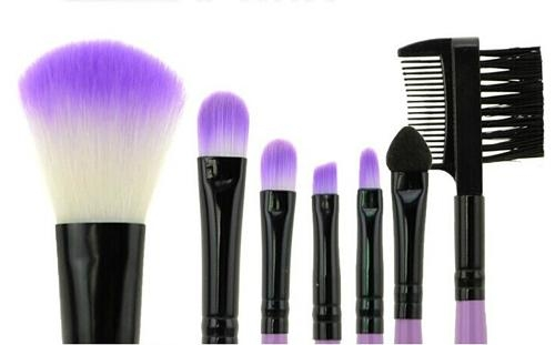 XINYANMEI Manufactury Supply Purple Makeup Brush Set  5