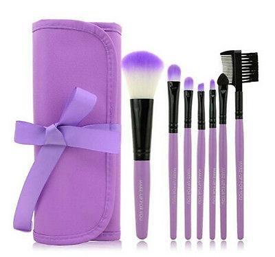 XINYANMEI Manufactury Supply Purple Makeup Brush Set  1