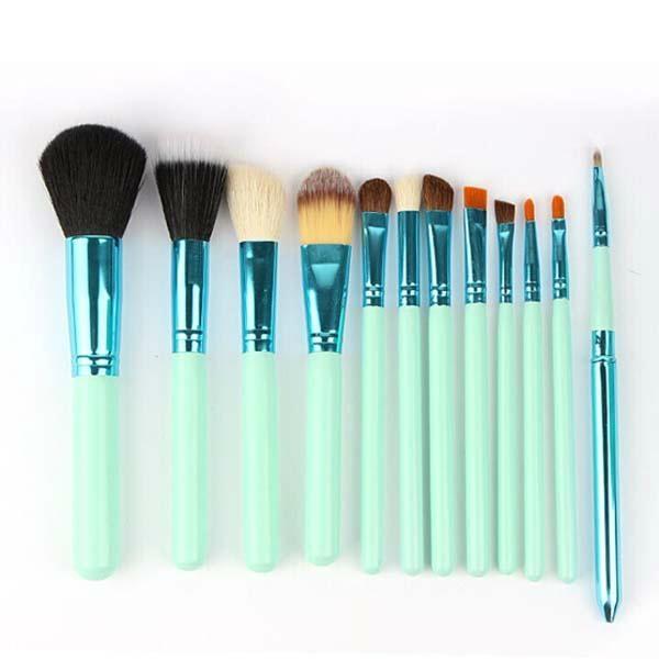 新妍美供應時尚12支化妝刷套裝 美容美妝工具 化妝套掃 1