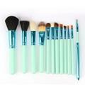 新妍美供应时尚12支化妆刷套装 美容美妆工具 化妆套扫