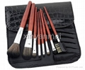 Manufacture Supply Pro 8pcs Makeup Brushes Set Cosmetic Brush