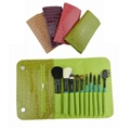 Manufactury Supply Travel Cosmetic Brush Set -10pcs Can OEM/ODM