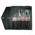 Manufactury Supply Pro12PCS Goat hair sable hair Makeup Brush Set  Can OEM/ODM
