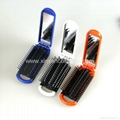 hot sale cute Hair Comb Cosmetic comb  Gift comb mirror set