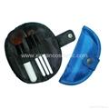 Black moon bag Mini gift travel brush set cosmetic tools