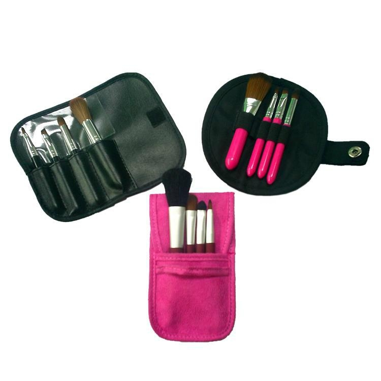 fashion Portable makeup brush set gift cosmetic kits