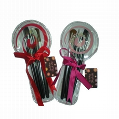 Christmas Gift Mini Makeup Brush Set