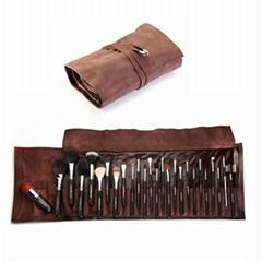 26Piece Makeup Brush Set for Artist Goat hair brush kit